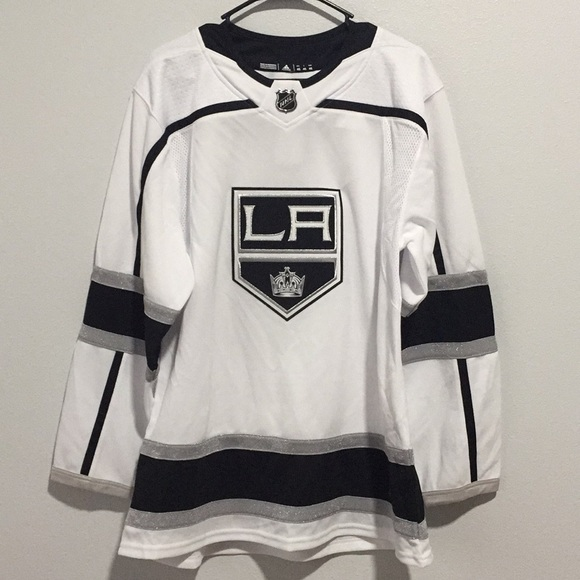1e8fd7d408b2 Adidas LA Kings Away NHL Hockey Jersey